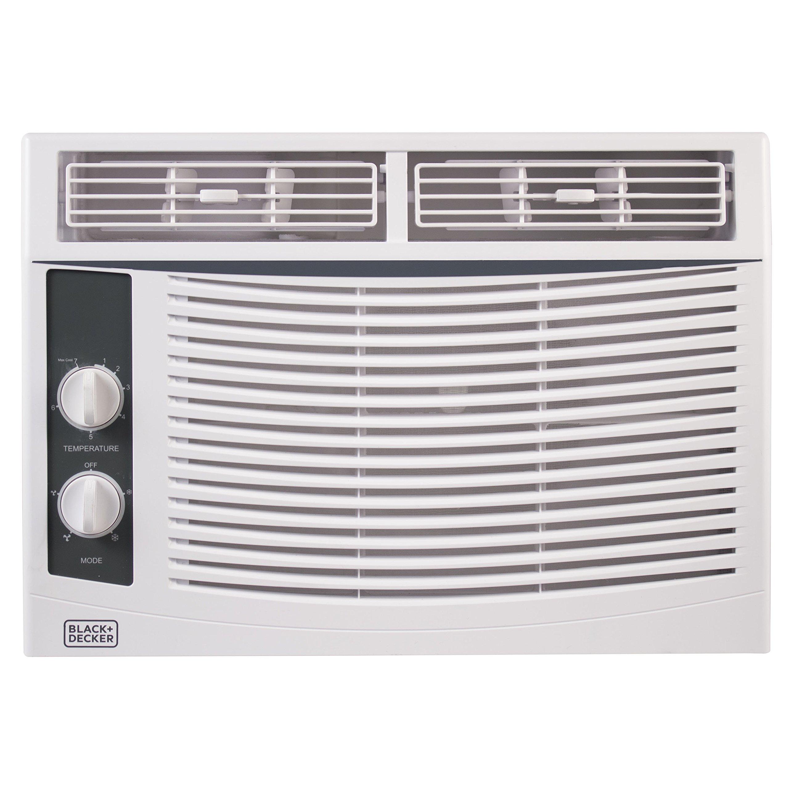 BLACK+DECKER BWAC05MWT 5,000 BTU Mechanical Window Air Conditioner