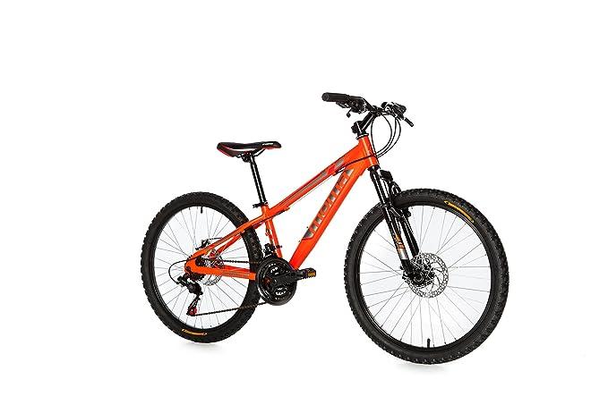 Moma Bikes, Bicicletta Mountainbike 24andnbsp;BTT Shimano, Alluminio, Doppio Disco e Sospensione