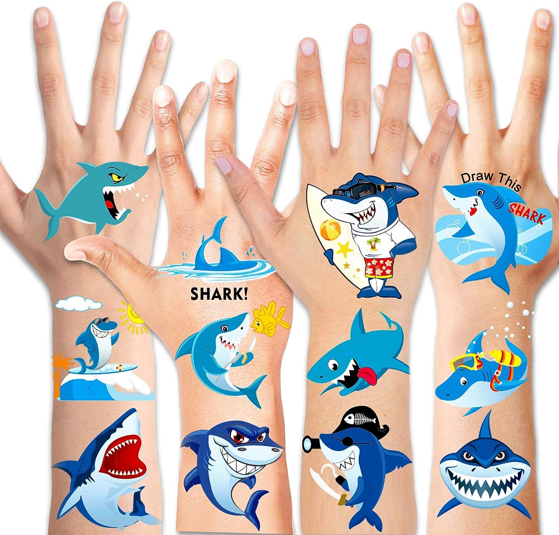 Baby Shark costume maschera party bag Adulti Festa Bambini Compleanno dei Bambini