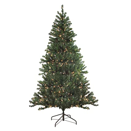 f28eea6abc6 Image Unavailable. Image not available for. Color  Northlight 6  Pre-Lit  Balsam Pine Artificial Christmas Tree ...
