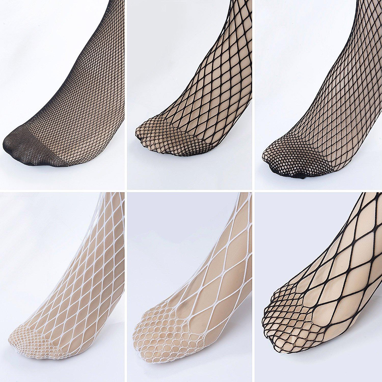 Vordas 6 Pares Medias de Rejilla de Calcetines de Rejilla para Mujer Fishnet Tights Talla única Medias de Rejilla Medias de Malla: Amazon.es: Ropa y ...