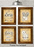 Amazon Price History for:Original Harley Davidson Patent Art Prints - Set of Four Photos (8x10) Unframed - Great Gift for Hog Riders