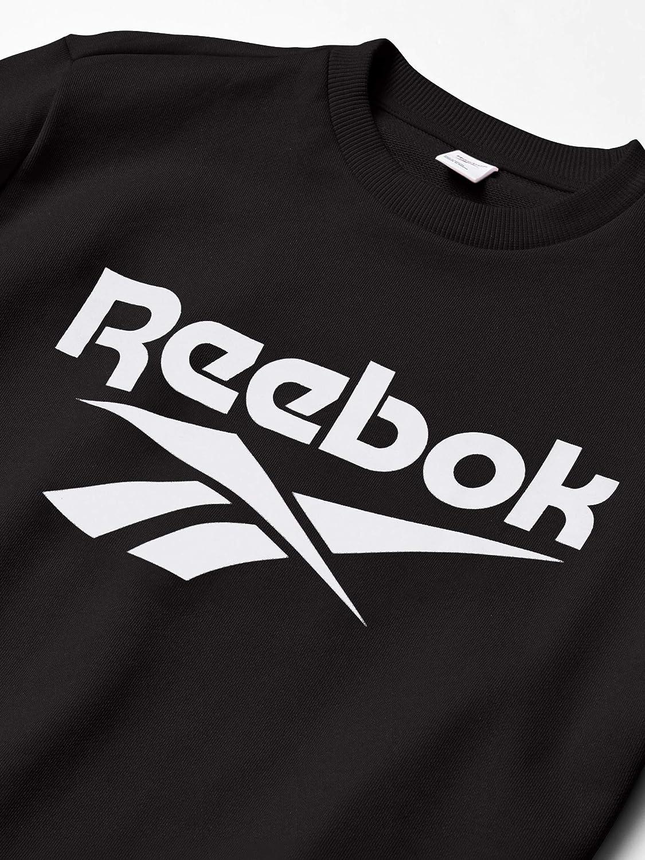 Reebok Classic Vector Crewneck - Manches Longues - Homme Noir