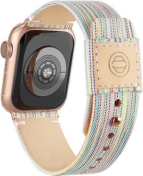 Goosehill Kompatibel Mit Apple Watch Armband Stoff Elektronik