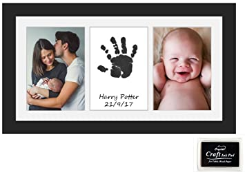 Beautiful Baby Handprint Or Footprint Keepsake Frame