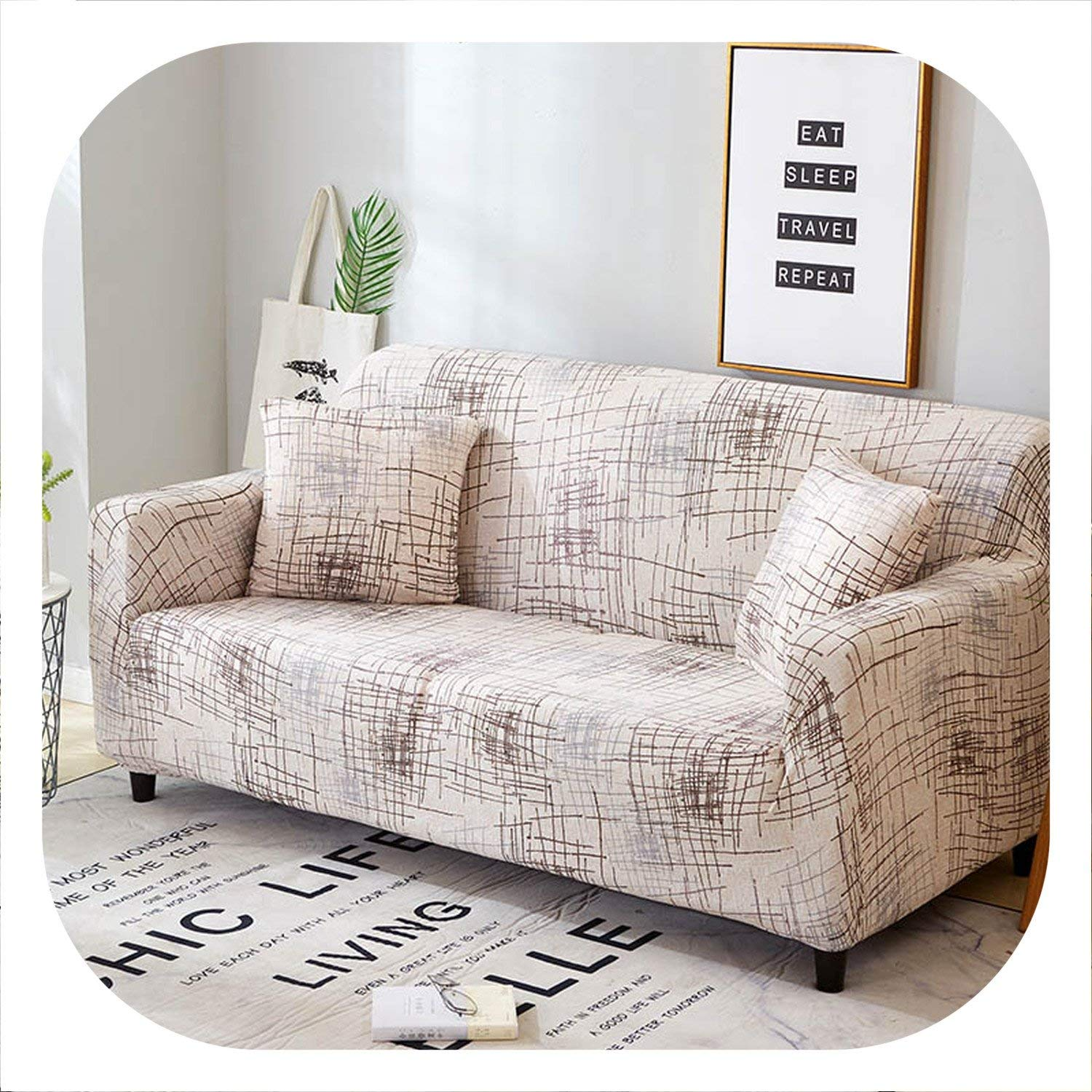 Amazon.com: New face Slip-Resistant Sofa Cover Luxurious ...