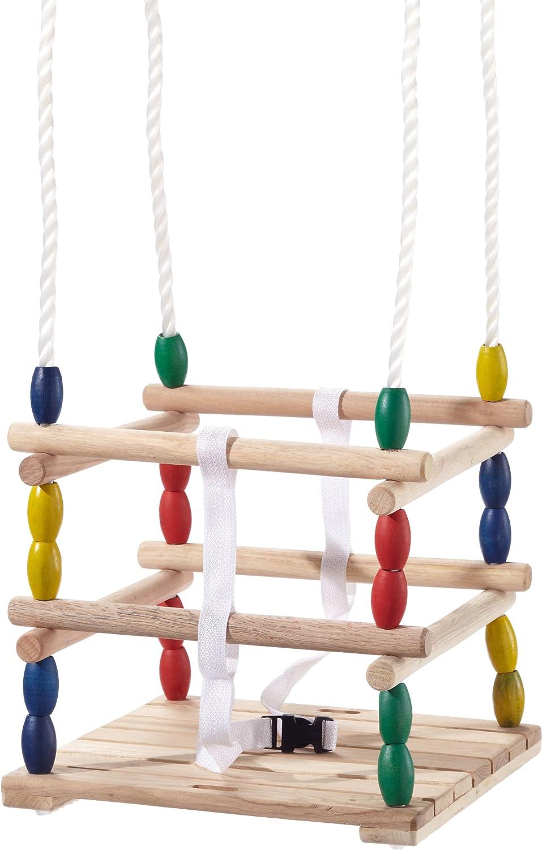 Kinderschaukel Holz - Mio Holz Gitterschaukel