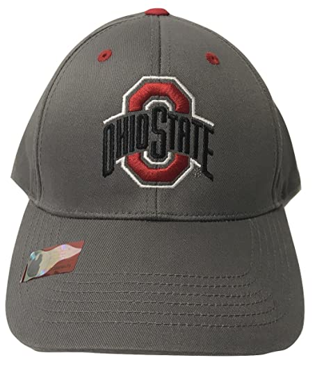 ohio state ncaa collegiate licensed velcro scarlet and gray baseball