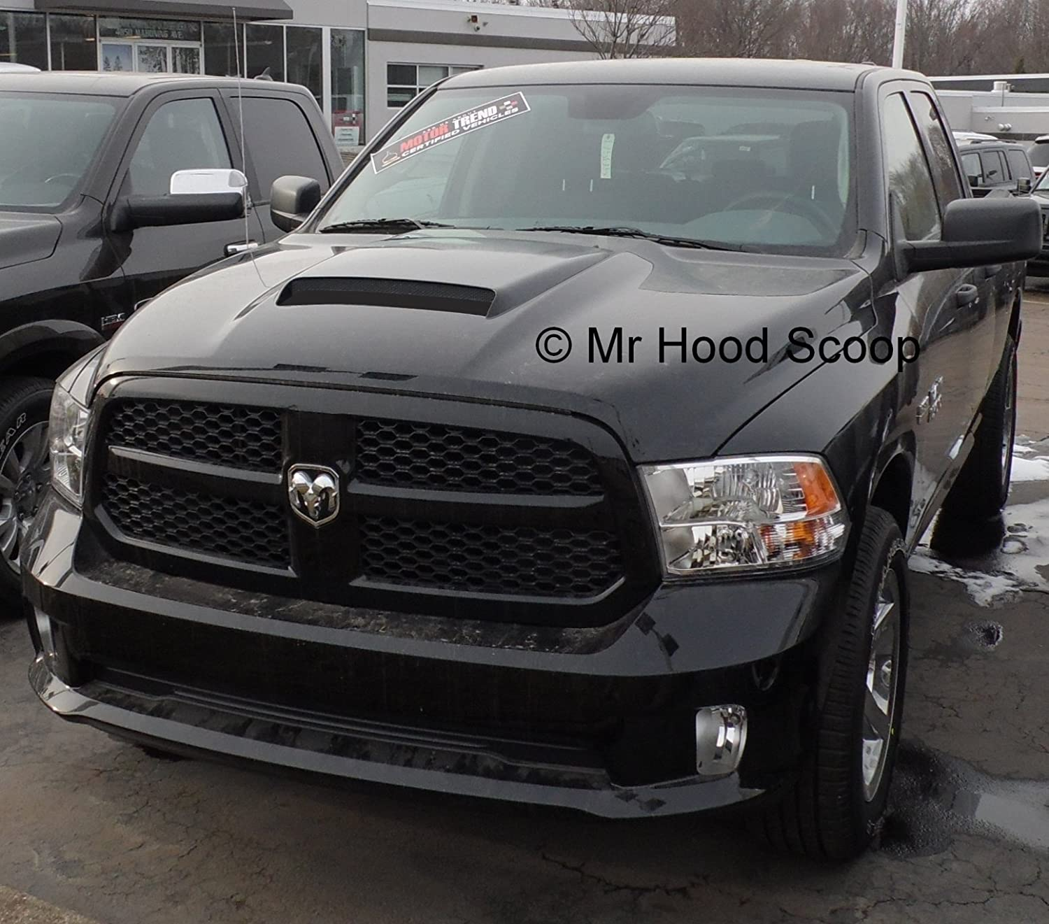 Amazon 2002 2018 Hood Scoop for Dodge Ram 1500 by MrHoodScoop