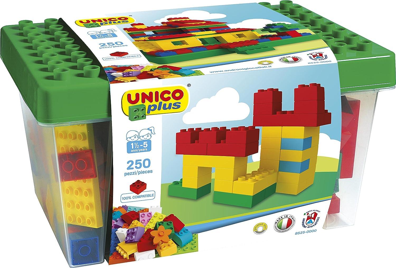 Unico Plus Caja con bloques de construcción piezas