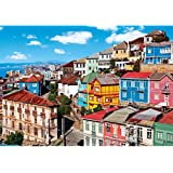 Colorluxe 1000 Piece Puzzle - View of Colorful Buildings