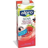 Alpro Boisson au Soja/Fruits Rouges avec Calcium/Vitamines Ajoutés 1 L - 1 pc