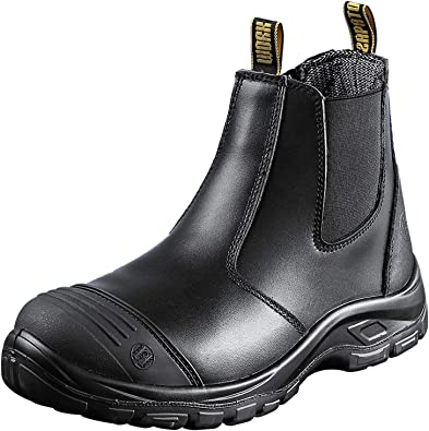 Mens Steel Toe Safety Rain Boot Anti-puncture Waterproof Rubber Work Shoes Hot