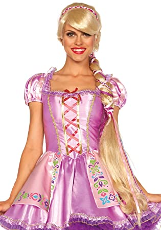 Leg Avenue A2674 - Rapunzel Peluca - One Size Fits All, Rubio