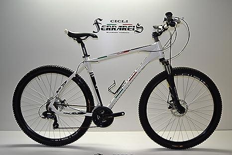 MTB 29 Bicicleta 29 Blanca 21 V aluminio personalizable: Amazon ...