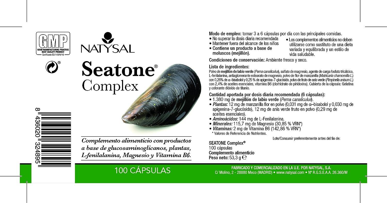NATYSAL - SEATONE COMPLEX 100cap NATYSAL: Amazon.es: Salud y cuidado personal
