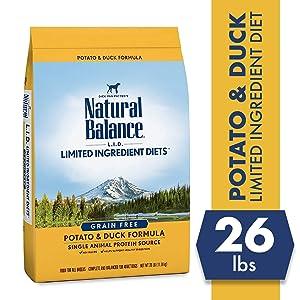 Natural Balance L.I.D. Limited Ingredient Diets Dry Dog Food