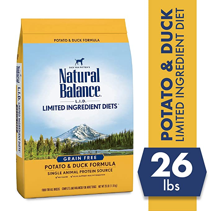 Natural Balance Limited Ingredient Diet Dry Dog Food- The Best Limited Ingredient Food