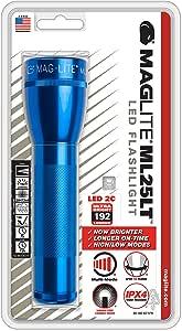 Mag Instrument ML25LT-S2116 Reel,Bait cast,Fishing Rod, Blue, 2-C Cell
