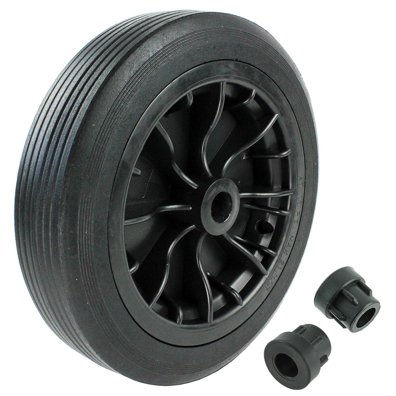 First4spares Schubkarren-Rad Reifen Achsen-Reduzierst/ück 30,5/cm 1,3/cm Schlauch 12 Zoll
