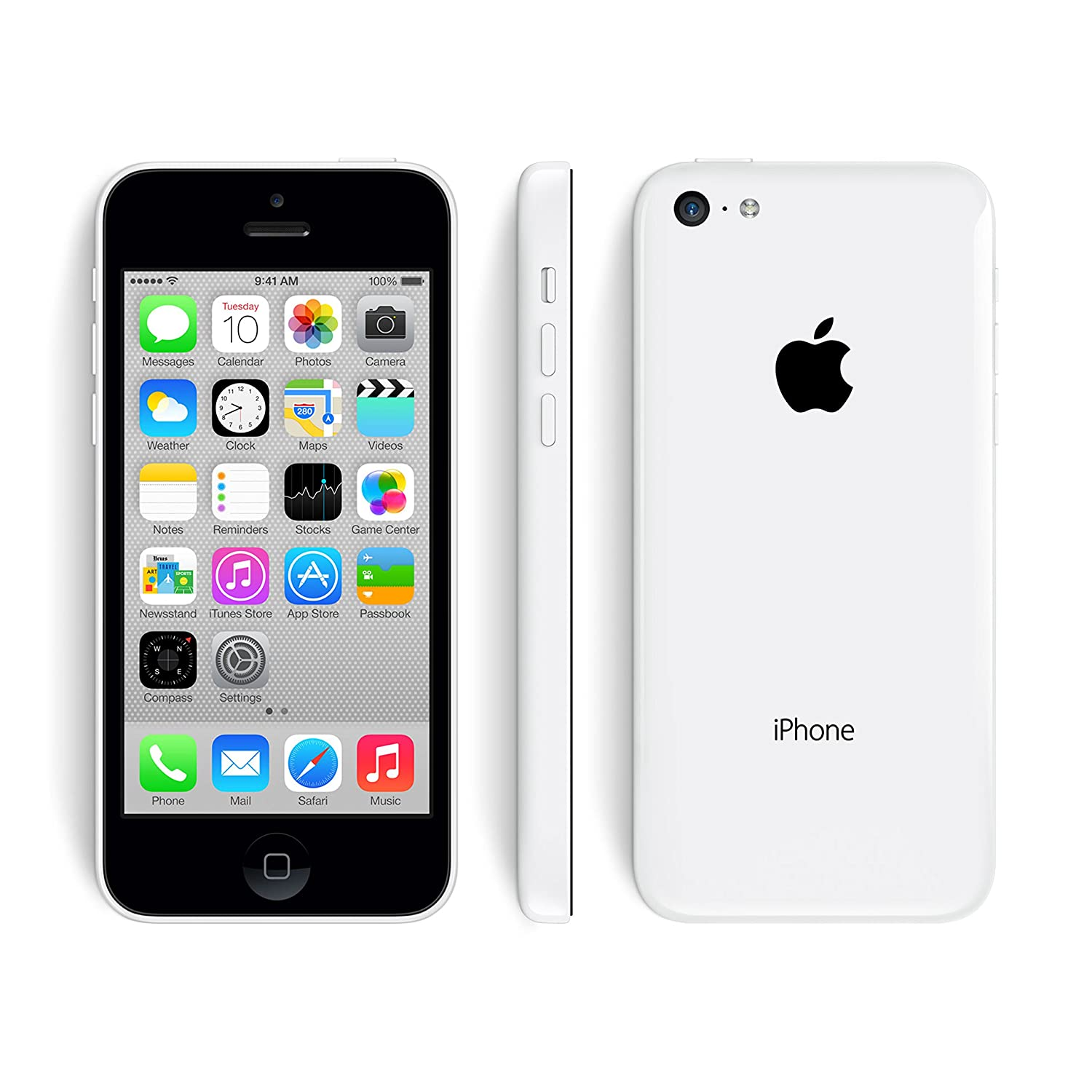 Amazon.com: Apple iPhone 5C 16GB 4G LTE White - Verizon Factory ...
