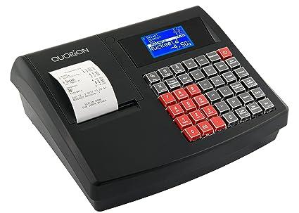 Quor litio kasse Sistema QMP 18 (gobd/GDPdU de konforme Caja registradora con rollo