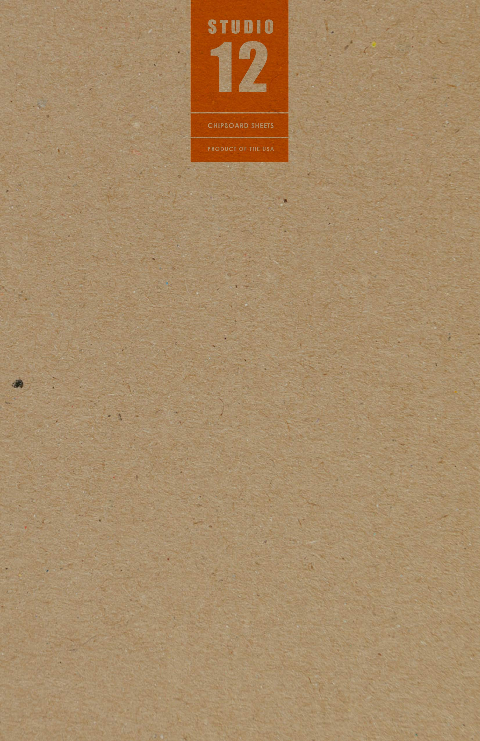 Studio 12 Chipboard Sheets. Kraft Brown. Medium. Great for Model Building, Scrap-Booking, Creative Projects and Protecting Valuable Photos and documents. (11'' x 17'' Sheets) (50 Sheets)