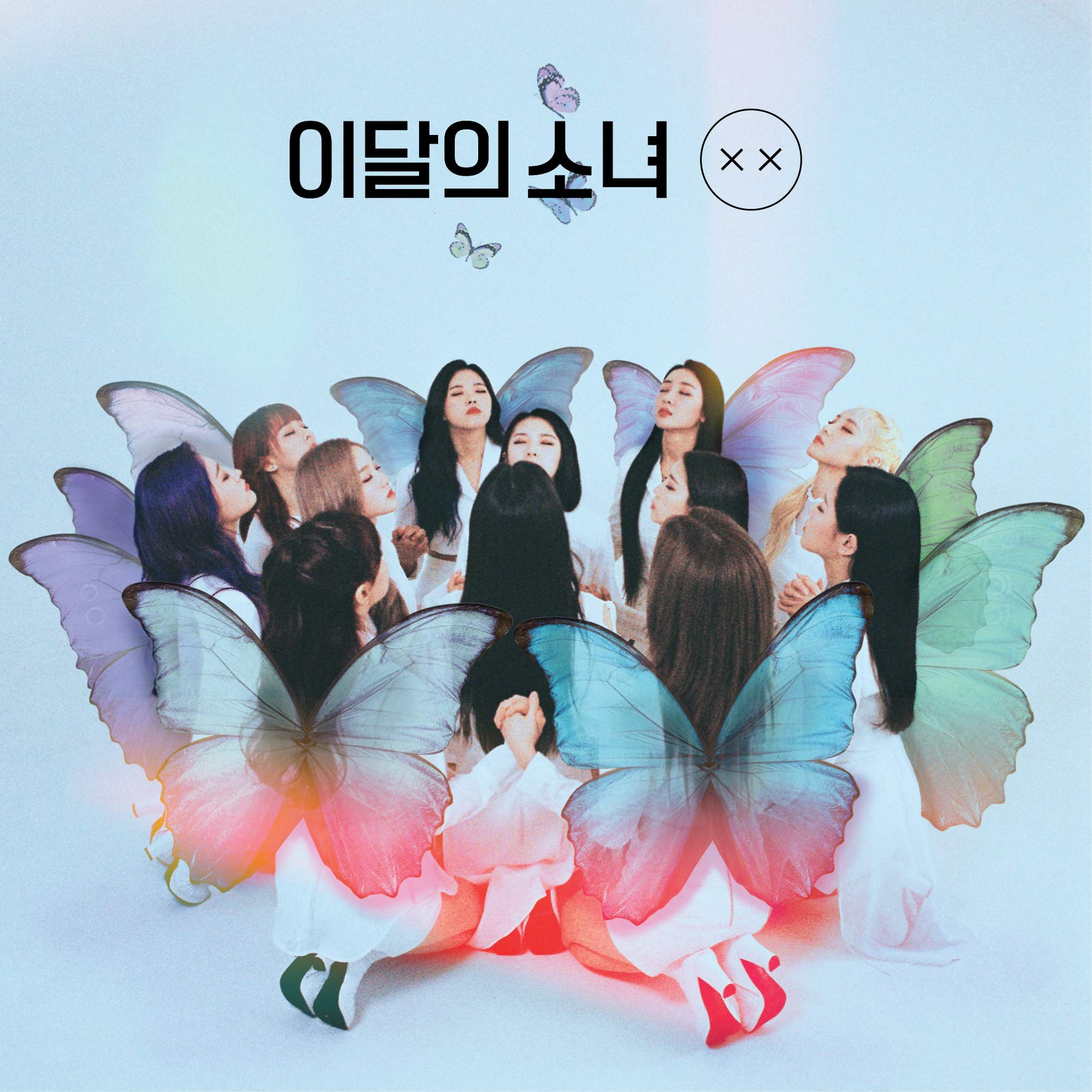 Monthly Girl LOONA - X X (Debut Mini Repackage) [Limited A ver.] CD+Booklet+1Photocard+Folded Poster+Double Side Extra Photocards Set