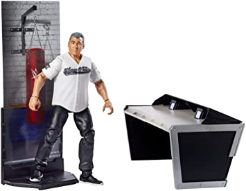 Wwe Shane Mcmahon Mattel Elite 50 Juguete Figura De Lucha Locutor