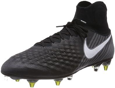 be95b451fc Nike Magista Obra II SG-Pro Anti Clog, Herren Fußballschuhe, Schwarz (Black