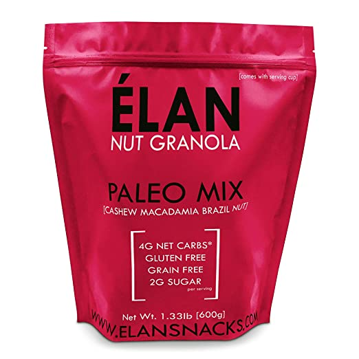ELAN Vegan Nut Granola Paleo Mix
