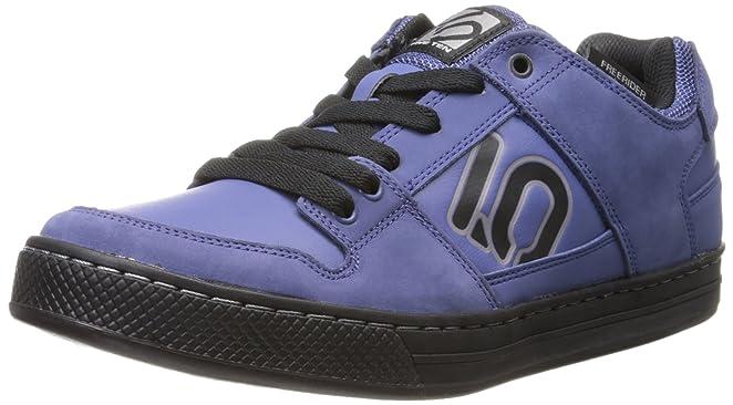 Cinco Elementos Diez de los hombres Freerider bicicleta Zapato, color Azul, talla 6.5 D(M) US