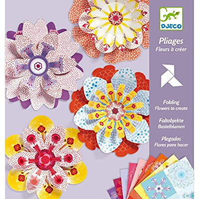 Djeco : Folding - Flowers to Create: Toys & Games
