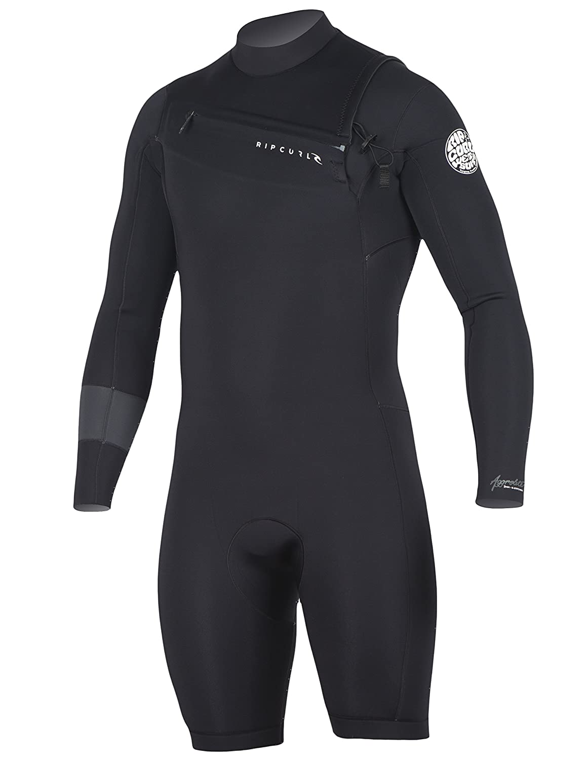 Amazon.com  Rip Curl Aggrolite Long Sleeve 2 Chest Zip Spring Suit  Sports    Outdoors e7aa101b9