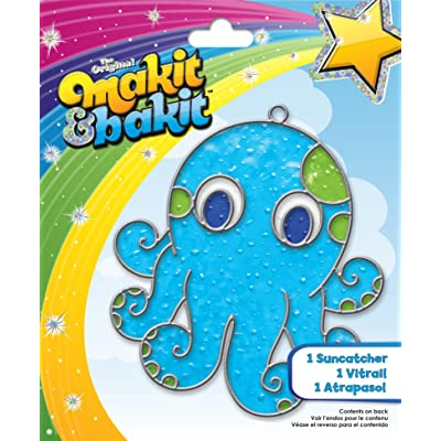Colorbok Makit and Bakit Suncatcher Kit, Octopus
