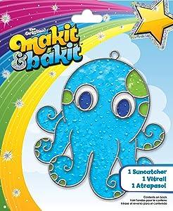 Colorbok Makit and Bakit Suncatcher Kit, Octopus