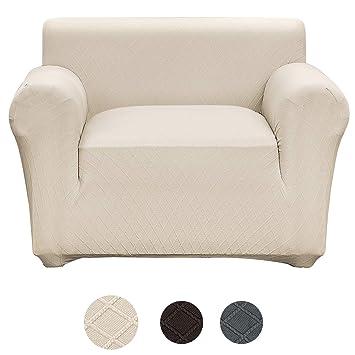 Amazon.com: Fuloon - Funda para sofá elástica, elegante, con ...