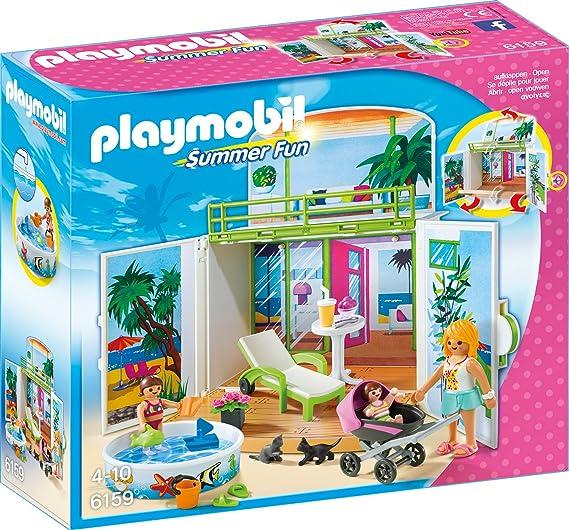 Playmobil 6159 - Sonnenterrasse, Aufklapp-Spiel-Box