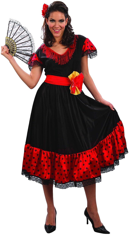 Disfraz de flamenca mujer S: Amazon.es: Juguetes y juegos