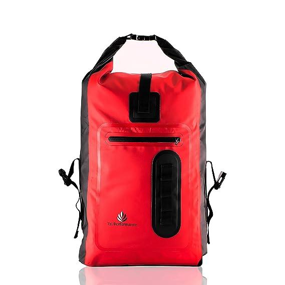 Wasserdicht 30L Rolle Top Dry Tasche Rucksack. Keep Gear Trocken beim Wandern, Wassersport, Kanu fahren, Camping und SUP. Reg