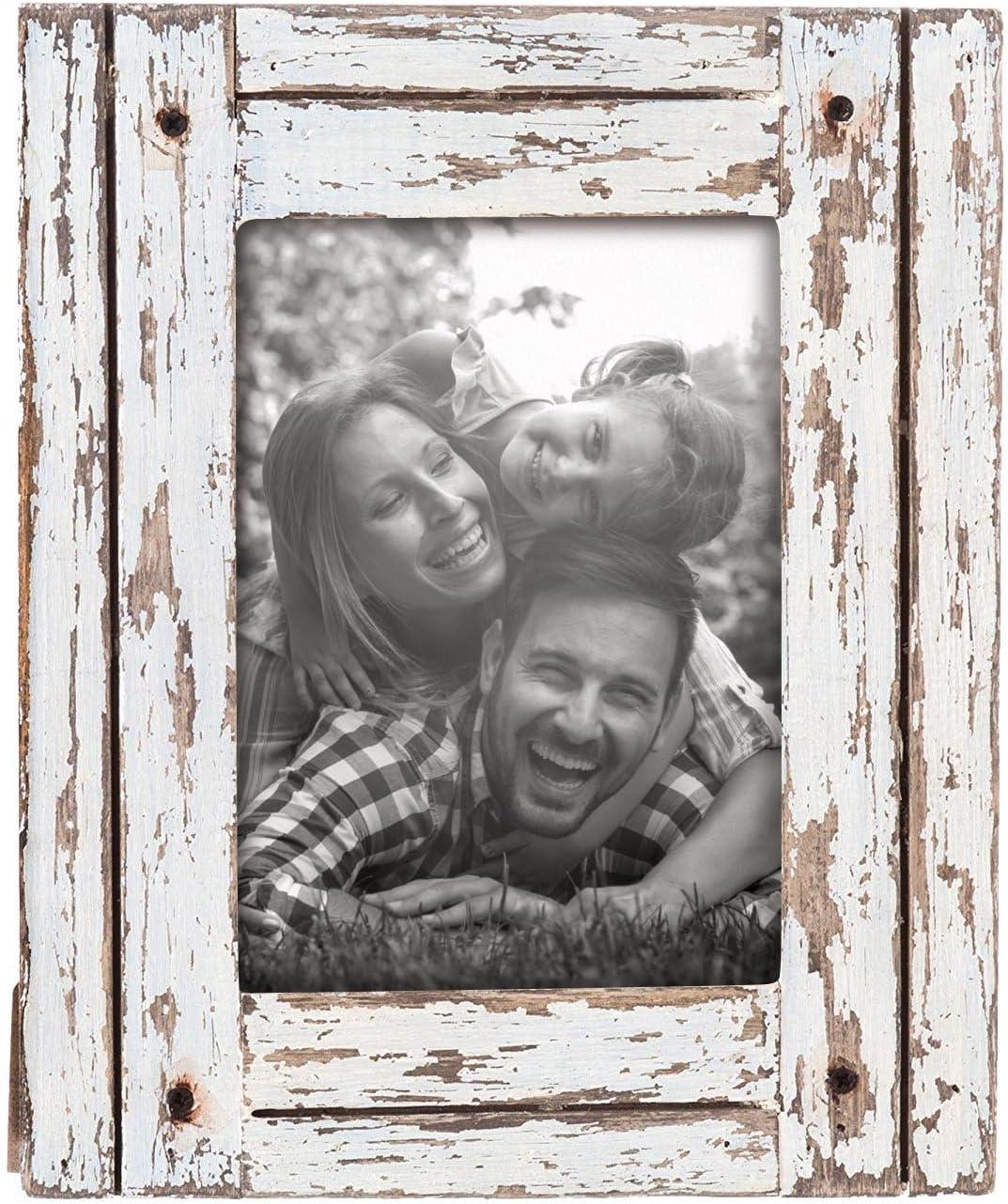 Foreside Home & Garden FFRD06209 5X7 Heartland Photo Frame White