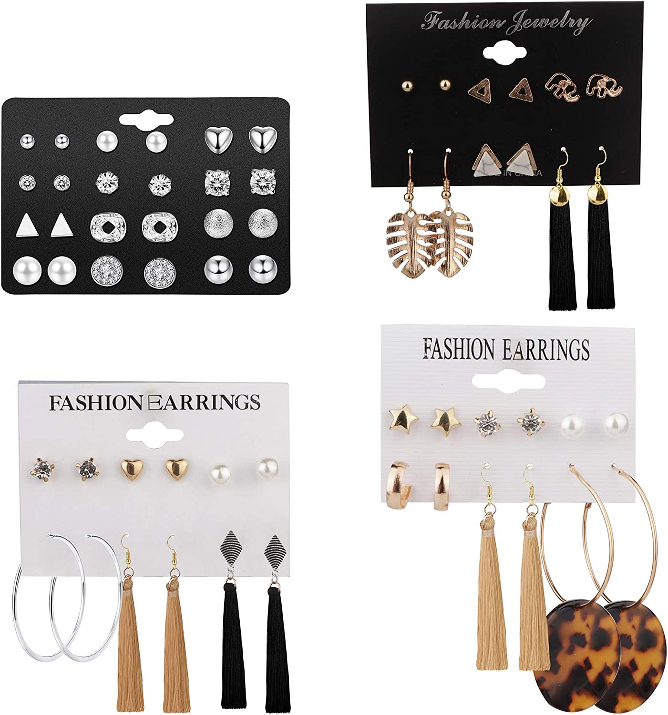 Fall stud earring set