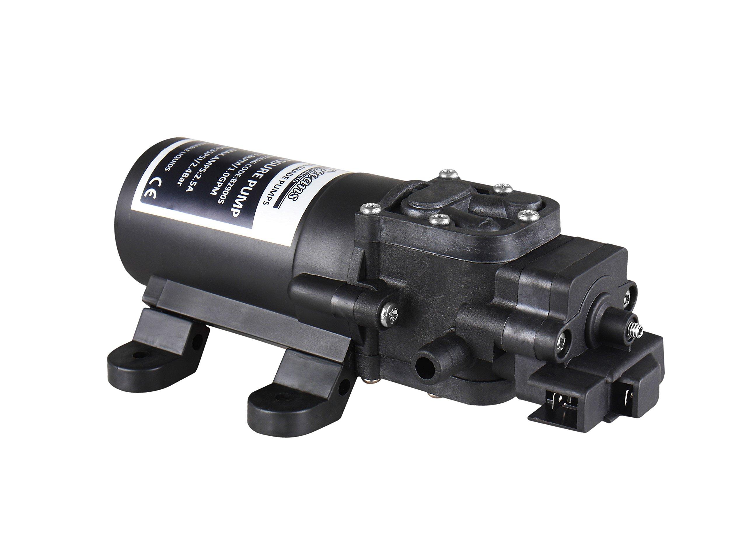 Five Oceans Automatic Diaphragm Water Pressure Pump, 1.0 GPM FO-3607