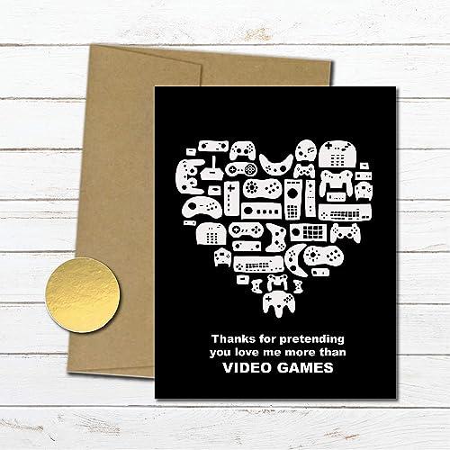 Amazon Video Game Love Card For Him Boyfriend Anniversary
