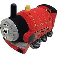Thomas and Friends Plush Stuffed James Pillow Buddy - Kids Super Soft Polyester Microfiber, 15 inch (Official Mattel…