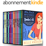 Mrs. Fix It Mysteries: The Complete 15-Books Cozy Mystery Series (English Edition)