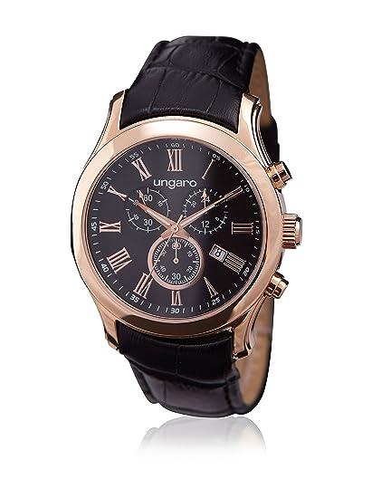 Ungaro Reloj Stefano Negro / Dorado