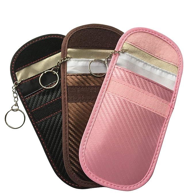 Protección de la carpeta 3 colores llave del coche Caso bloqueador ...