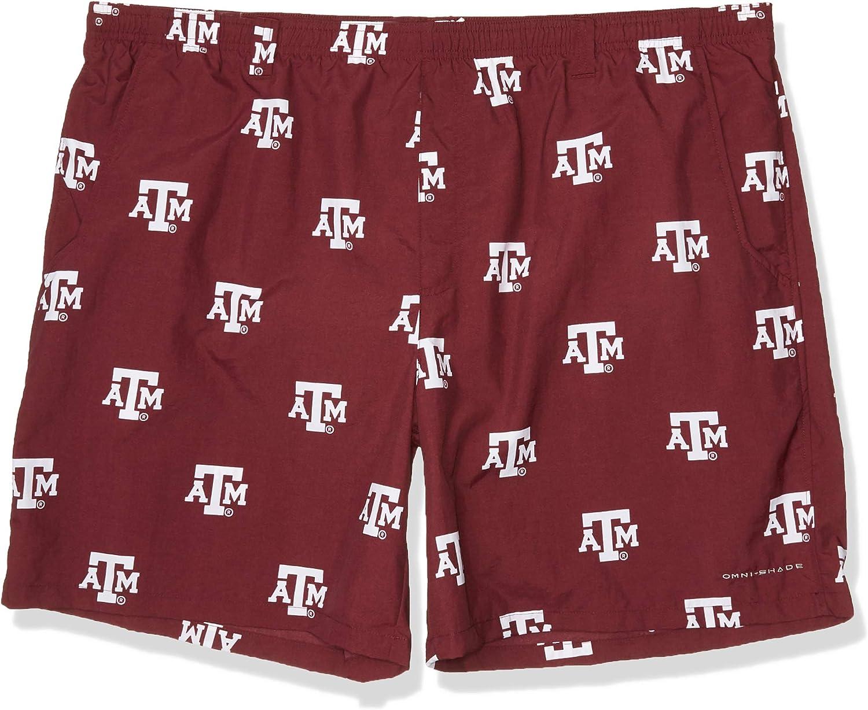 XX-Large x 6 Deep Maroon NCAA Texas A/&M Aggies Mens Collegiate Backcast II Printed Short TAM