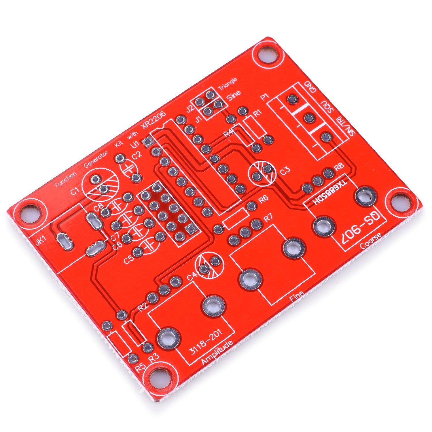 Xr2206 Schematic Electronic Projects T Electronics Precision Crystal Frequency Checher Circuit Diagram Tradeoficcom Function Generator Kuman Updated Diy Kit Signal With Screwdriver And Jumper Wires Cable Sine Triangle Square Output 1hz 1mhz